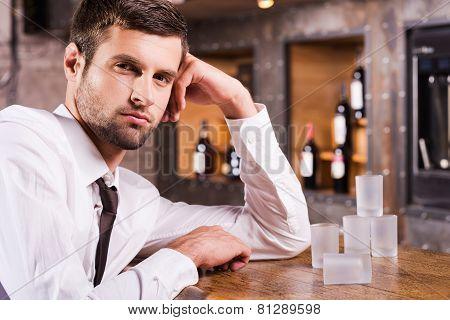 Man In Bar.