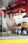 Small Business: Female Owner Or Waitress