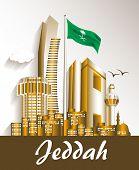 stock photo of riyadh  - City of Jeddah Saudi Arabia Famous Buildings - JPG