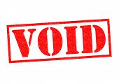pic of scant  - VOID red Rubber Stamp over a white background - JPG