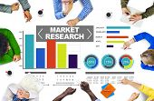 image of stock market data  - Market Research Business Percentage Research Marketing Strategy Concept - JPG