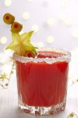 pic of bloody mary  - Bloody Mary Cocktail with olives  for Christmas - JPG