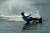 Wakeboarder In Action-1