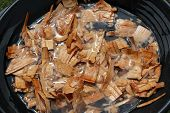 image of spare  - soak wood chunks or chips - JPG
