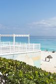picture of yucatan  - A view of Cancun beach on the Yucatan - JPG