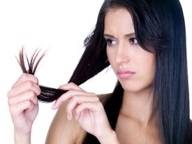 picture of split ends  - Close - JPG