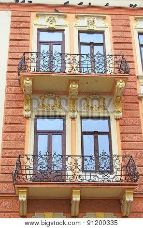 Old Building In Chernivtsi, Ukraine