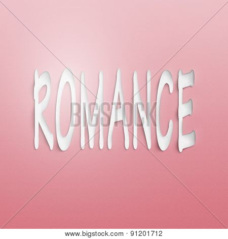 text on the wall or paper, romance