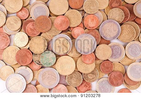 European Euro Currency Texture