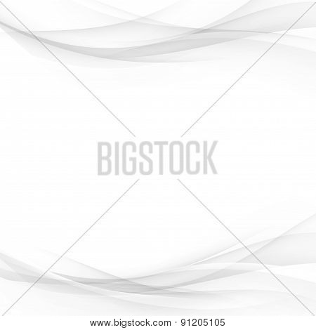 Soft Abstract Gradient Line Border Card Layout