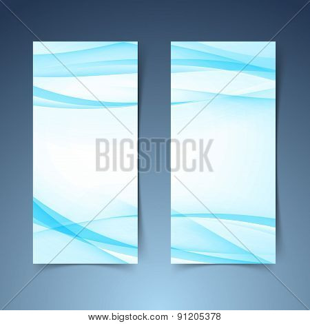 Blue Smooth Swoosh Line Border Banner Layout.jpg