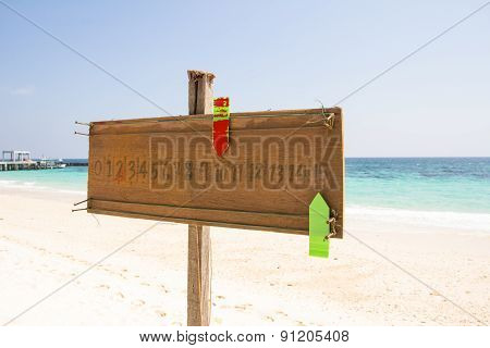 Scoreboard Sports On The Beach