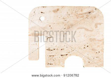 Minimal Stone Elephant