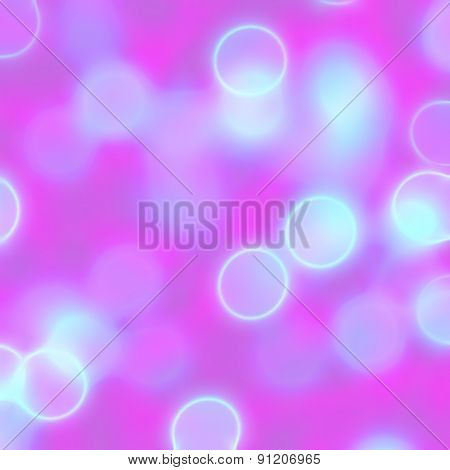 Blurred Pink Circles Background