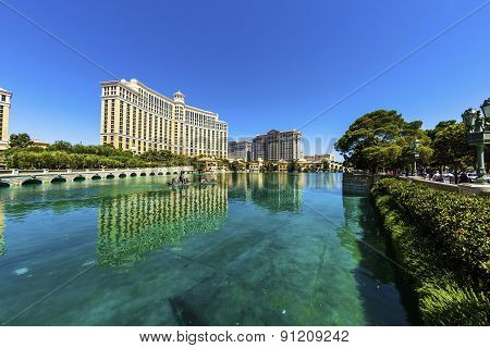 Luxury Hotel Bellagio In Las Vegas