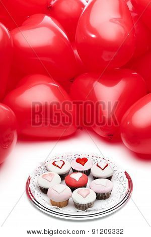 Valentine's Day Love Cupcakes