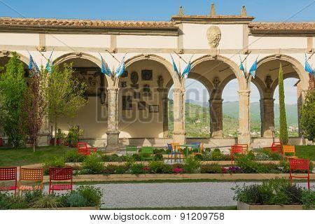 Town Hall Square in Castiglion FiorentinoToscana