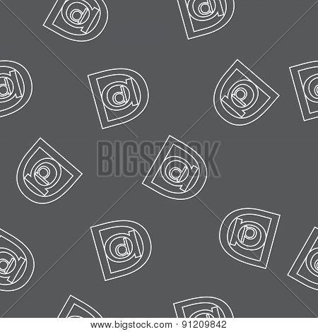 Dad seamless pattern