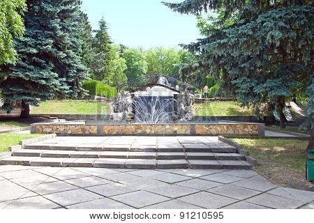 In The City Park Of Pyatigorsk