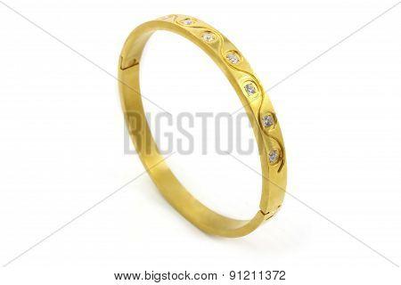 Ladies steel bracelet