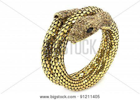 Ladies bracelet snake