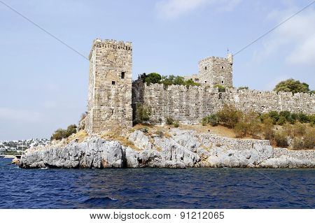Castle Of Saint Peter In Bodrum