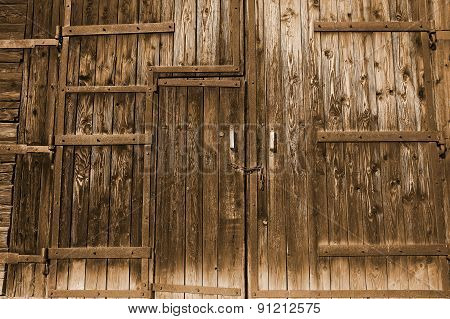 Old Faded Gate/doors