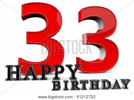 Happy 33Th Birthday