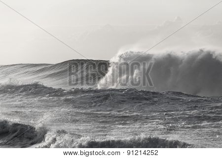 Wave Ocean Crashing