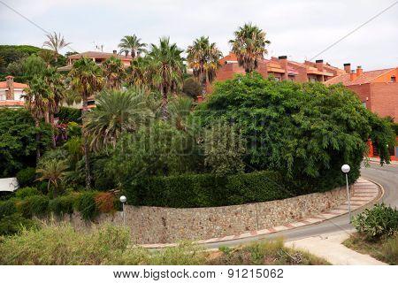Resort town Calella