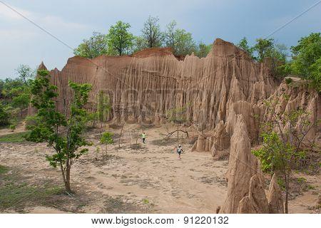 Soil Textures Of Sao Din Na Noi In Sri Nan National Park.