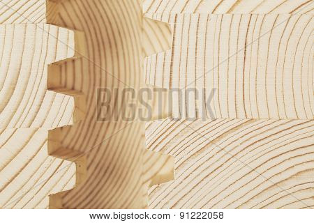 Cut Wooden Laminated Veneer Lumber