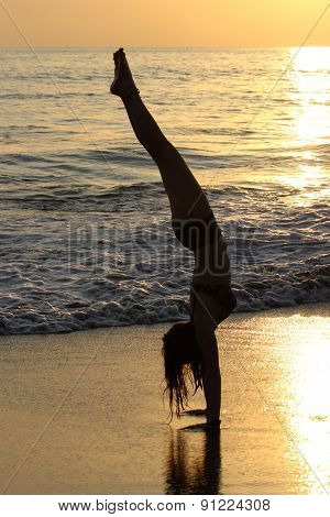 Sunset Handstands