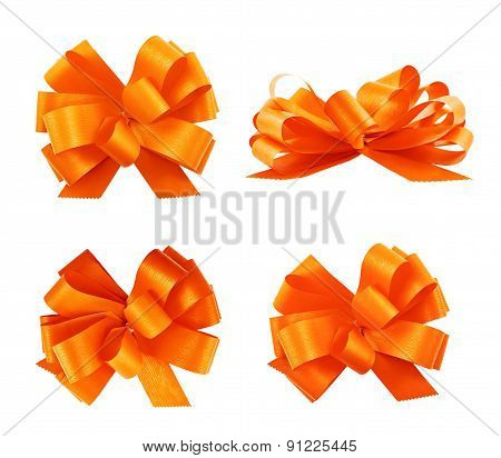 Set of four gift bows