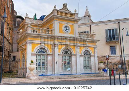 Historical Palace. Andria. Puglia. Italy.