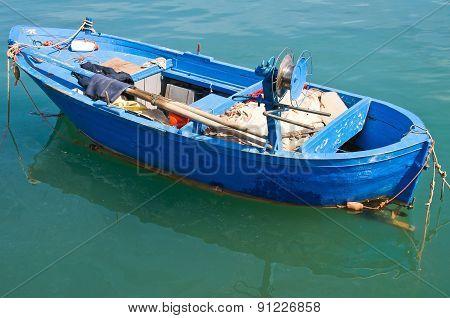 Boat. Molfetta. Puglia. Italy.