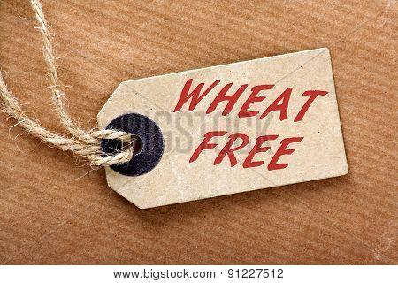 Wheat Free Label