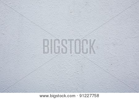 The Bright White Rough Grainy Plaster Background