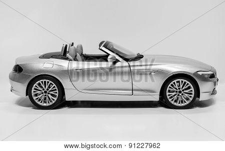 Sports Car B&w