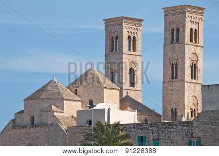 Duomo Church of Molfetta. Puglia. Italy.