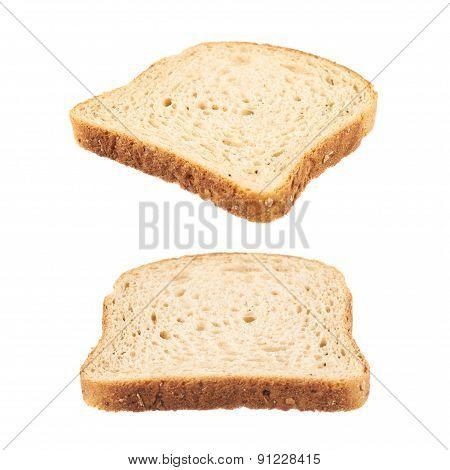 Slice of the toast bread