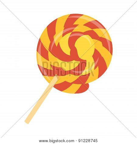Lollipop flat icon 02