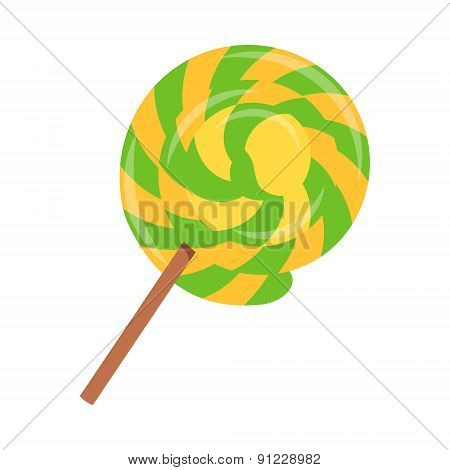 Lollipop flat icon 01