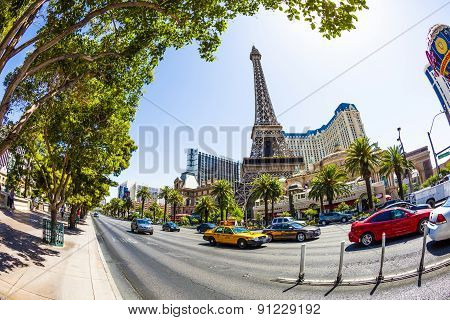 Paris Las Vegas Hotel And Casinoin Las Vegas