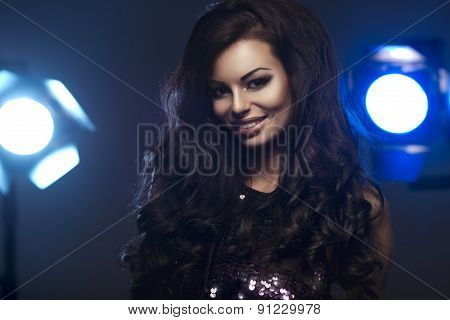 Portrait Of A Perfect Female Beauty