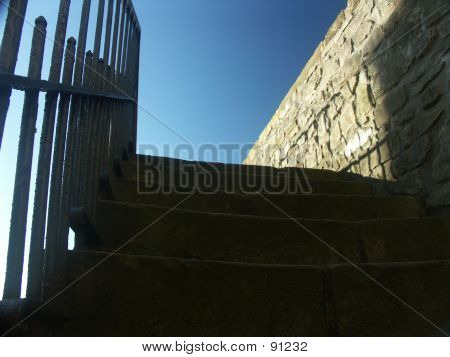 Stairs Atthe Castle