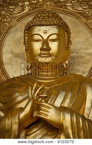Gold Budha