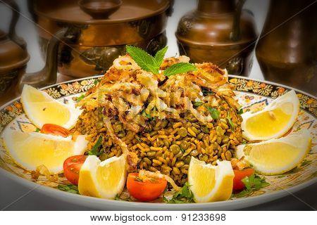 Mejadra - Arabian Dish