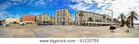 Split Riva Waterfront Panoramic View