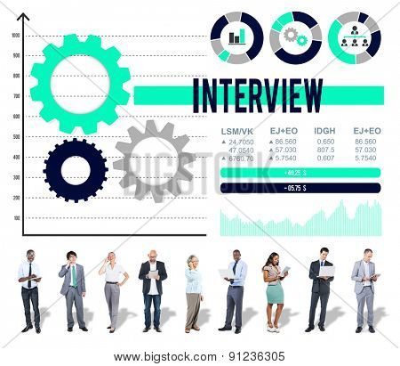 Interview Preparation Interviewer Journalism Ideas Concept
